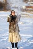 зима игр Стоковые Изображения RF