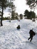 зима игр Стоковые Изображения