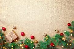 зима иллюстрации конструкции рождества предпосылки Счастливый Новый Год, с Рождеством Христовым Стоковые Изображения RF