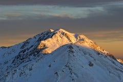 зима индюка гор Стоковое фото RF