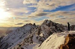 Зима Инсбрука Альпов Стоковые Фотографии RF