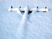 зима инструмента засева сада Стоковые Фото