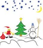 зима искусства Стоковое Изображение RF