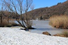 Зима, Италия Стоковое Фото