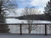 зима Канада Стоковое Изображение RF