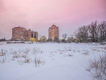 зима Канады Стоковые Фотографии RF