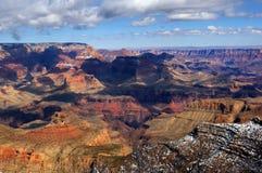 зима каньона грандиозная Стоковые Изображения