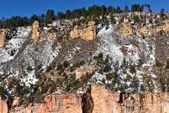 зима каньона грандиозная Стоковая Фотография RF