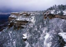зима каньона грандиозная Стоковое фото RF