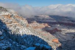 зима каньона грандиозная Стоковая Фотография