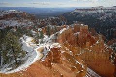 зима каньона bryce стоковые фотографии rf
