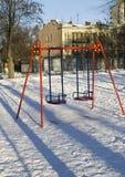 зима качания парка Стоковое Фото
