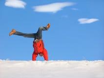 зима колеса телеги Стоковая Фотография