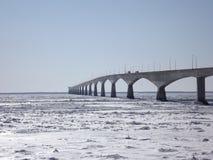 зима конфедерации моста Стоковая Фотография RF