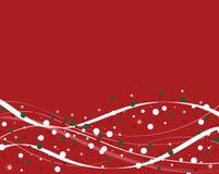 зима красного цвета предпосылки Стоковые Фото