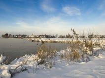 зима ландшафта Стоковые Изображения
