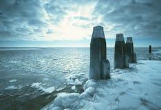 зима ландшафта Стоковое Изображение RF