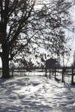 зима ландшафта Стоковое Изображение