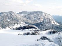 зима ландшафта Стоковая Фотография RF