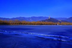 зима лета дворца утра Стоковое фото RF