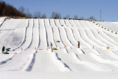зима лыжи lodge потехи Стоковое Фото