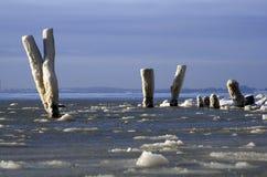 зима льда стоковое изображение rf