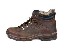 зима людей ботинка Стоковое Фото