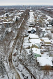 зима места города Стоковые Фото