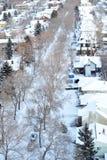 зима места города Стоковые Изображения RF
