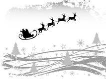зима места рождества карточки Стоковые Изображения
