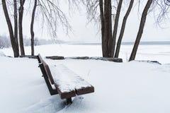 зима места снежная Стоковое Фото