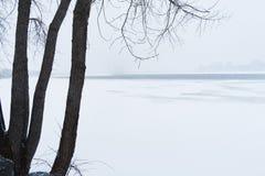 зима места снежная Стоковое Изображение RF
