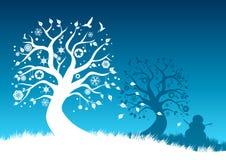 зима места Бесплатная Иллюстрация
