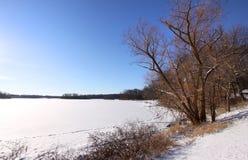 зима места Стоковые Изображения