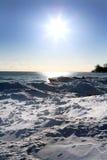 зима места Стоковые Фотографии RF