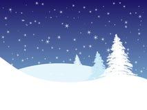 зима места Стоковое Изображение