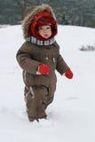 зима младенца Стоковые Фото