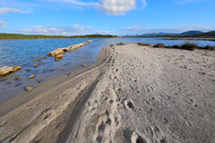 зима моря ландшафта Стоковые Изображения RF