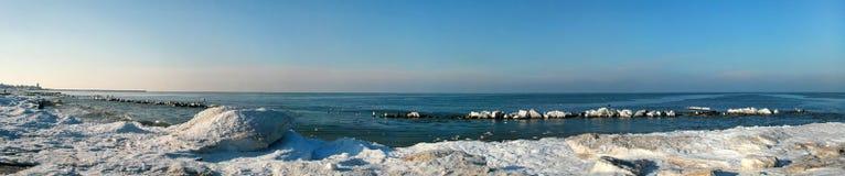 зима моря Стоковые Фото