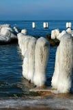 зима моря Стоковые Фотографии RF