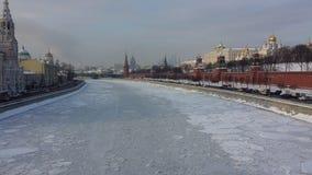 Зима Москва Стоковые Изображения