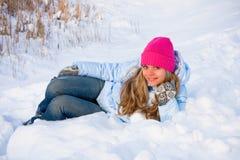 зима настроения Стоковое Изображение RF