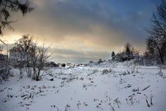зима неба Стоковое фото RF