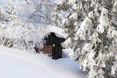 зима Норвегии ландшафта Стоковые Изображения RF