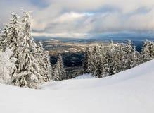 зима Норвегии Стоковые Фото