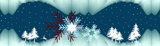 зима ночи молчком бесплатная иллюстрация