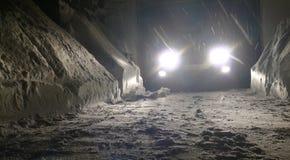 зима ночи Стоковые Фотографии RF