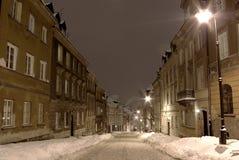 зима ночи Стоковое Изображение RF