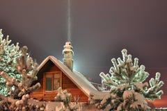 зима ночи Стоковые Фото