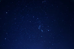 зима ночного неба Стоковое фото RF